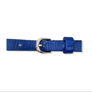 Thin Blue Womens Belt